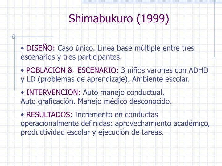 Shimabukuro (1999)