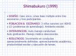 shimabukuro 1999