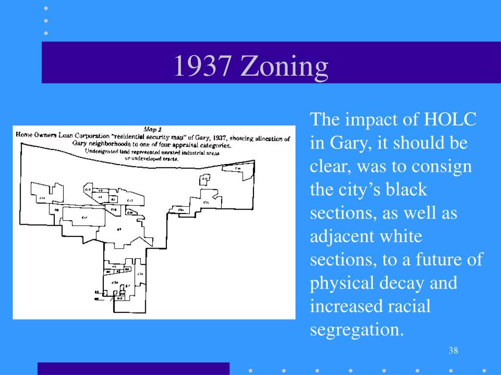 1937 Zoning