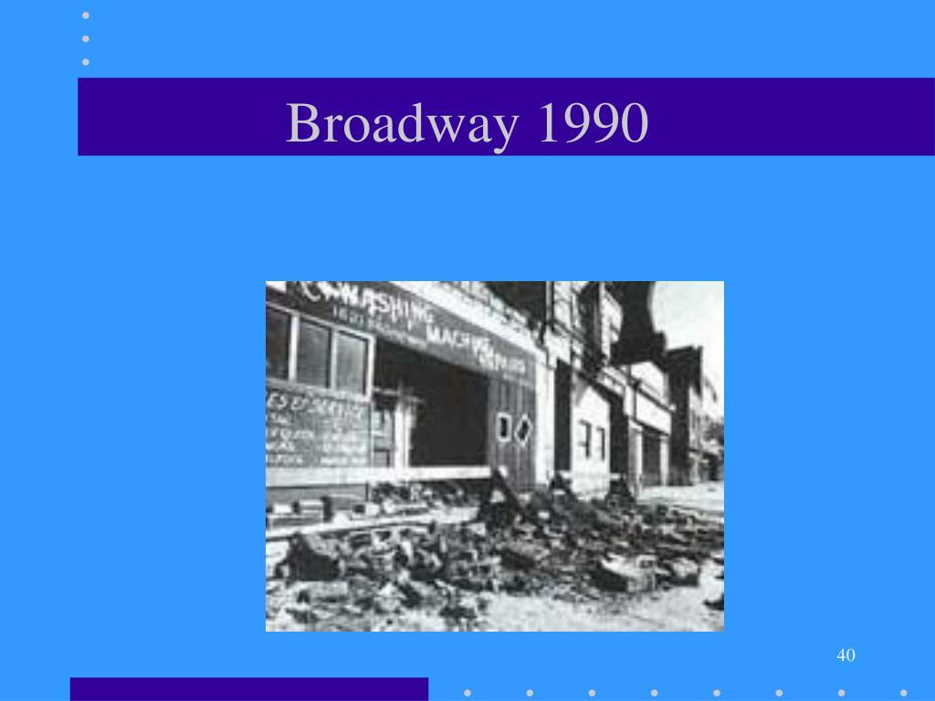 Broadway 1990