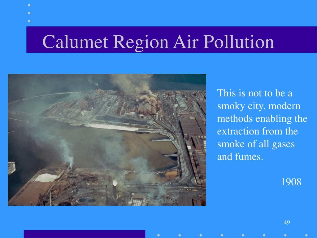 Calumet Region Air Pollution