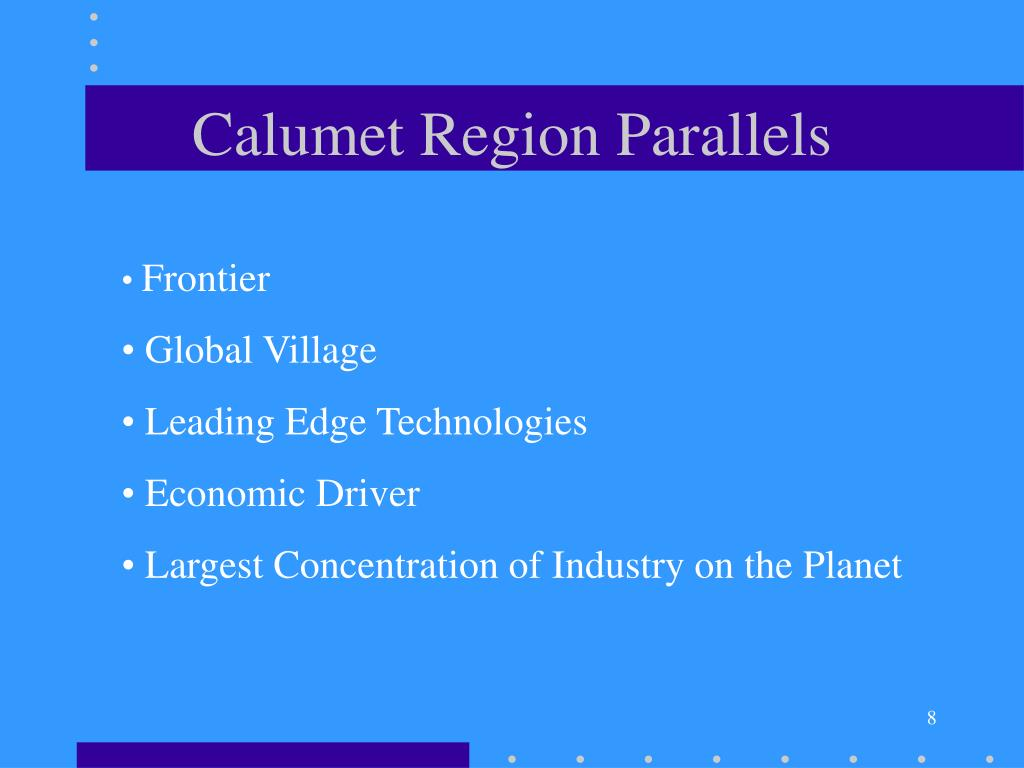 Calumet Region Parallels