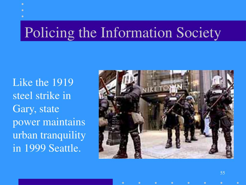 Policing the Information Society