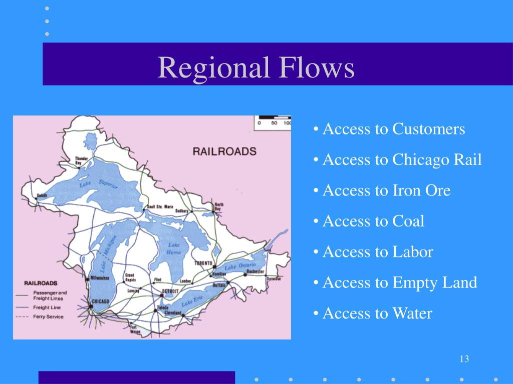 Regional Flows
