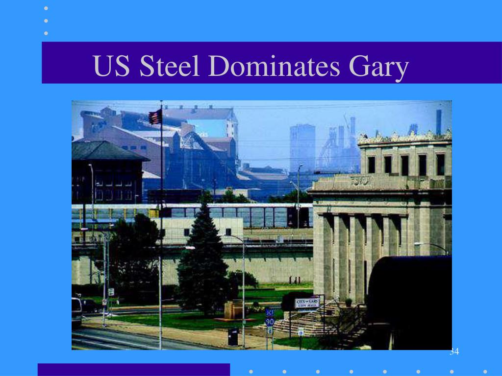 US Steel Dominates Gary