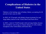 complications of diabetes in the united states2