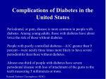 complications of diabetes in the united states5