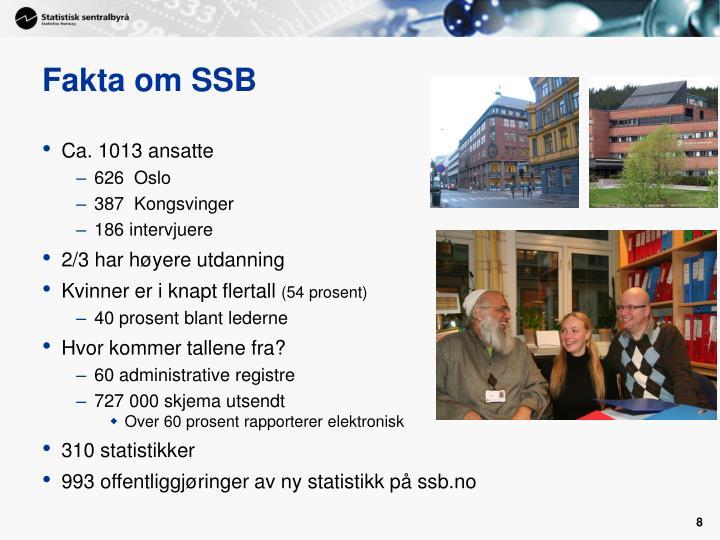 Fakta om SSB