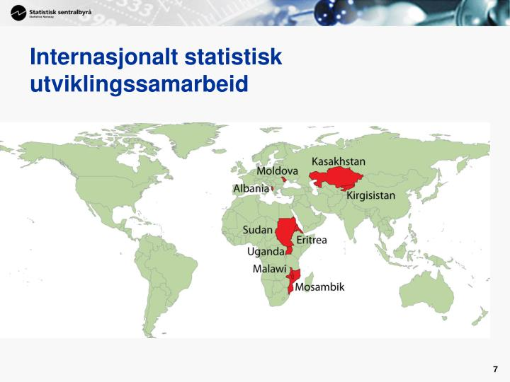 Internasjonalt statistisk utviklingssamarbeid