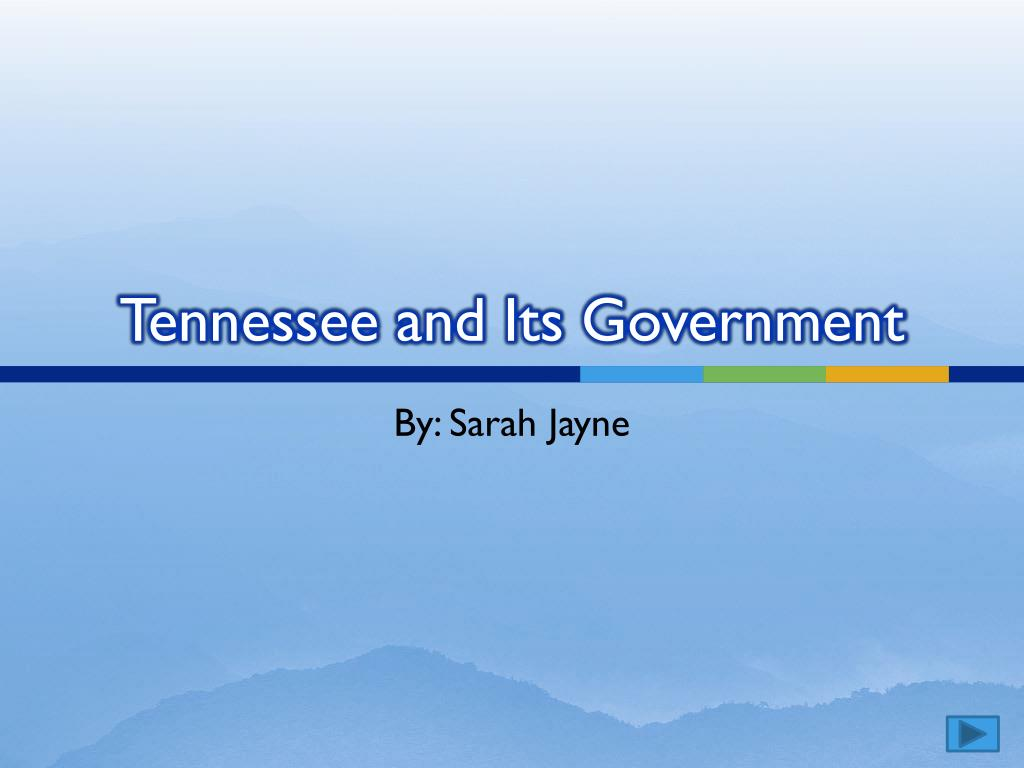 tennessee and its government