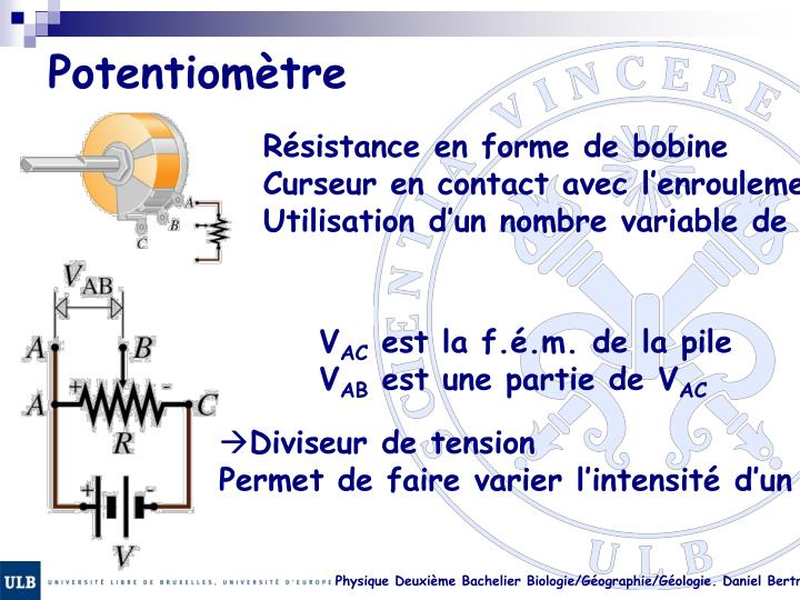 Potentiomètre