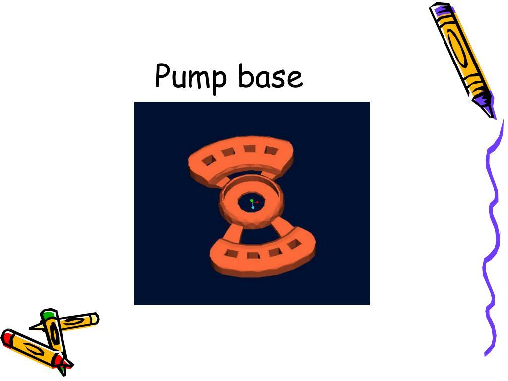 Pump base