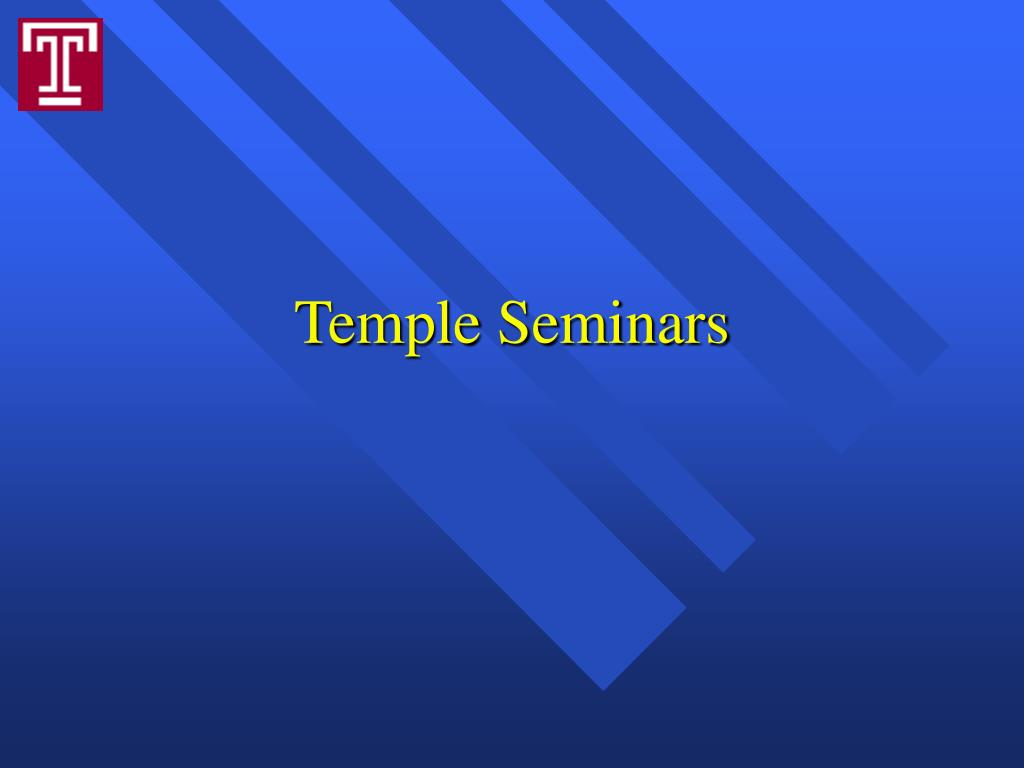 Temple Seminars