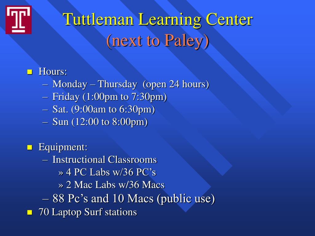 Tuttleman Learning Center