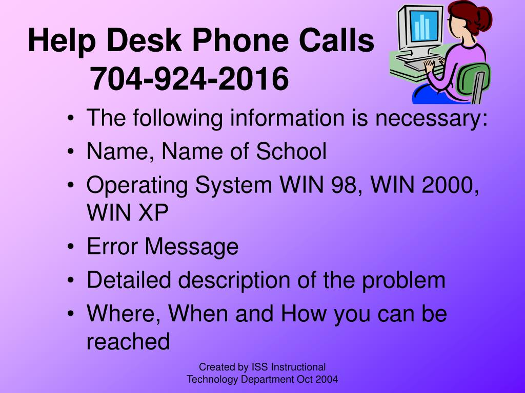 Help Desk Phone Calls