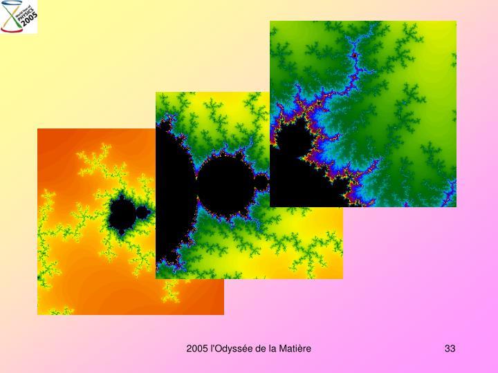 2005 l'Odyssée de la Matière