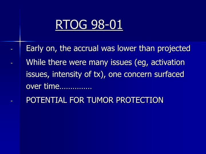 RTOG 98-01