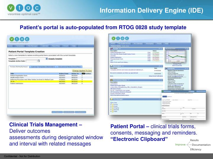Information Delivery Engine (IDE)