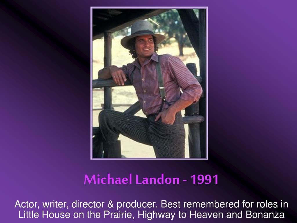 Michael Landon - 1991