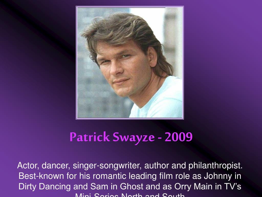 Patrick Swayze - 2009