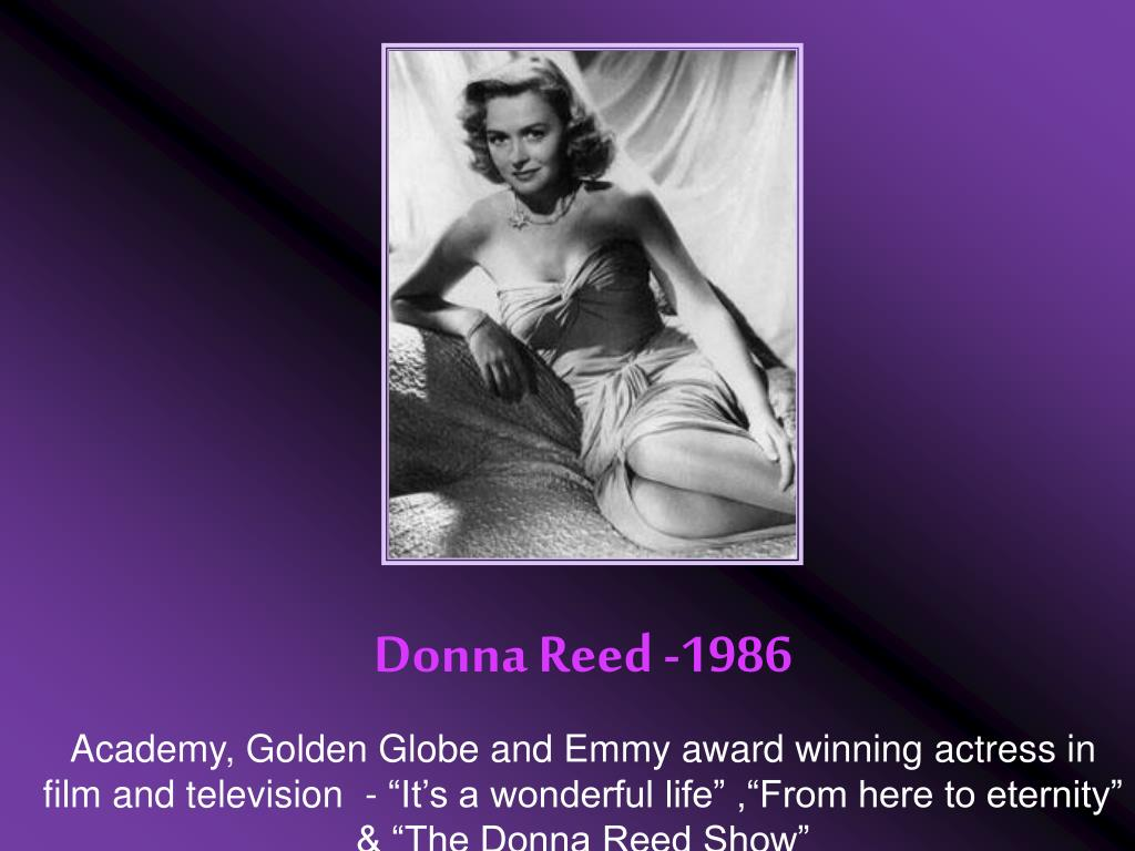 Donna Reed -1986