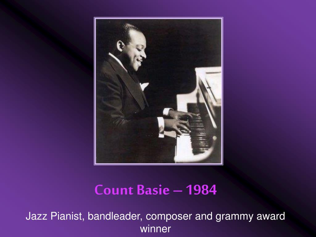 Count Basie – 1984
