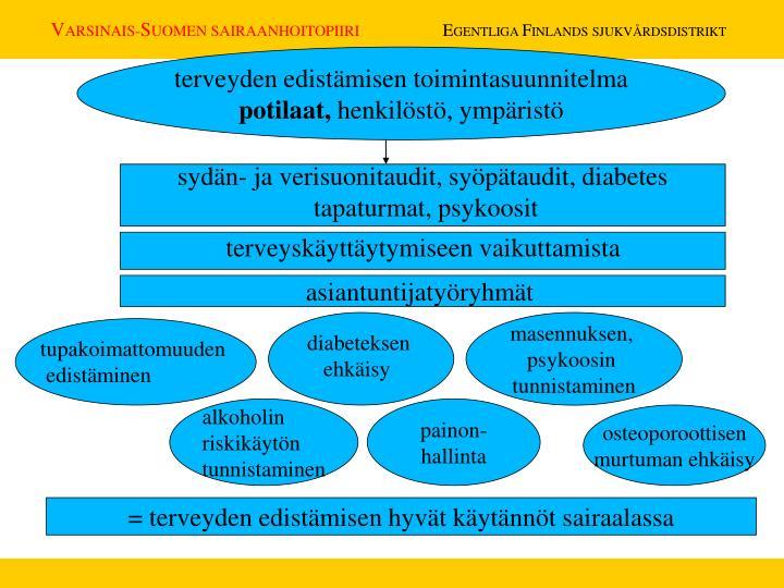 terveyden edistämisen toimintasuunnitelma