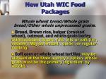 new utah wic food packages15