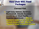 new utah wic food packages17