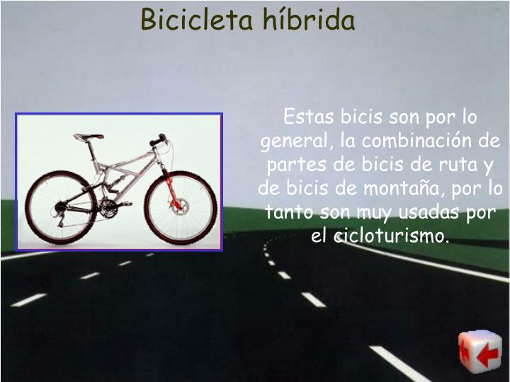 Bicicleta híbrida