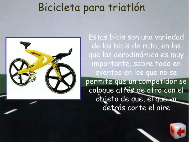 Bicicleta para triatlón