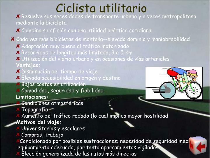 Ciclista utilitario