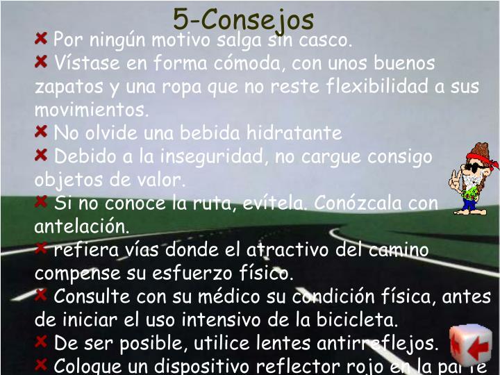 5-Consejos