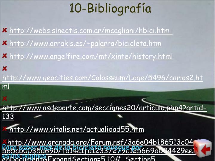 10-Bibliografía