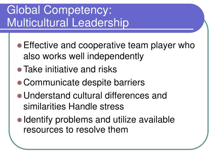 Global Competency: