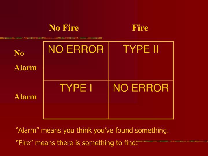 No FireFire