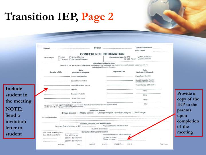 Transition IEP,