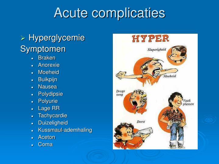 Hyperglycemie