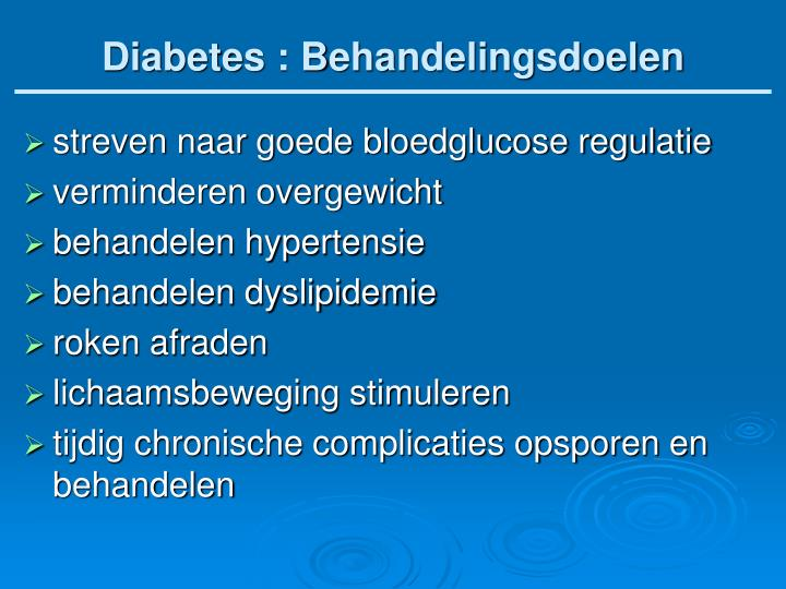 Diabetes :