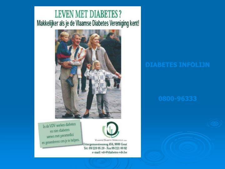 DIABETES INFOLIJN