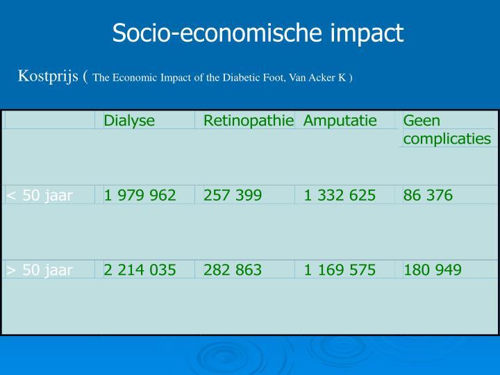 Socio-economische impact