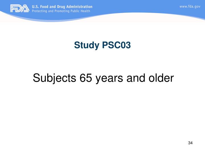 Study PSC03