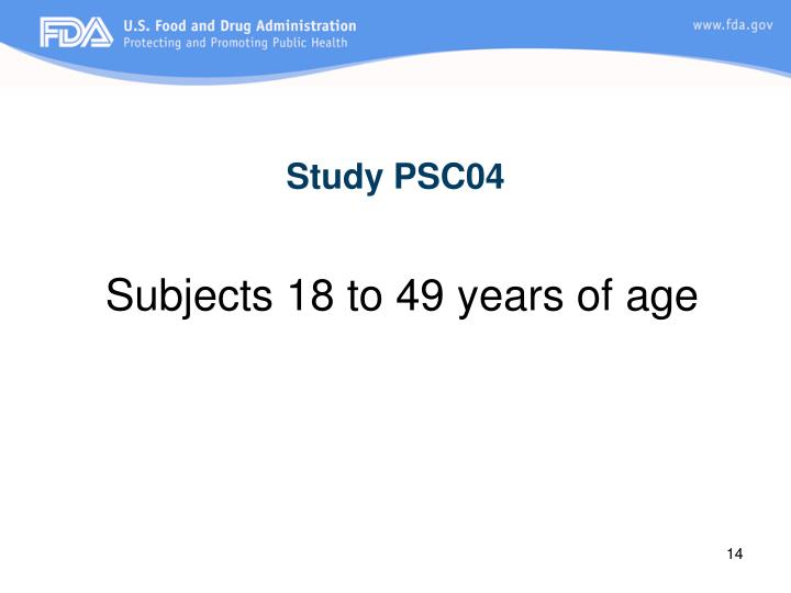 Study PSC04