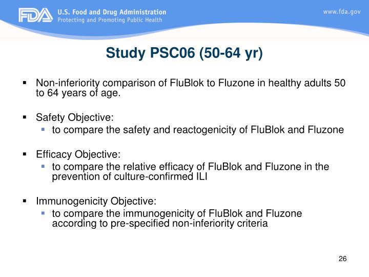 Study PSC06 (50-64 yr)