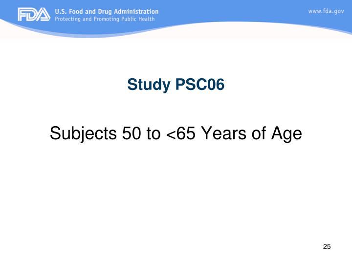 Study PSC06