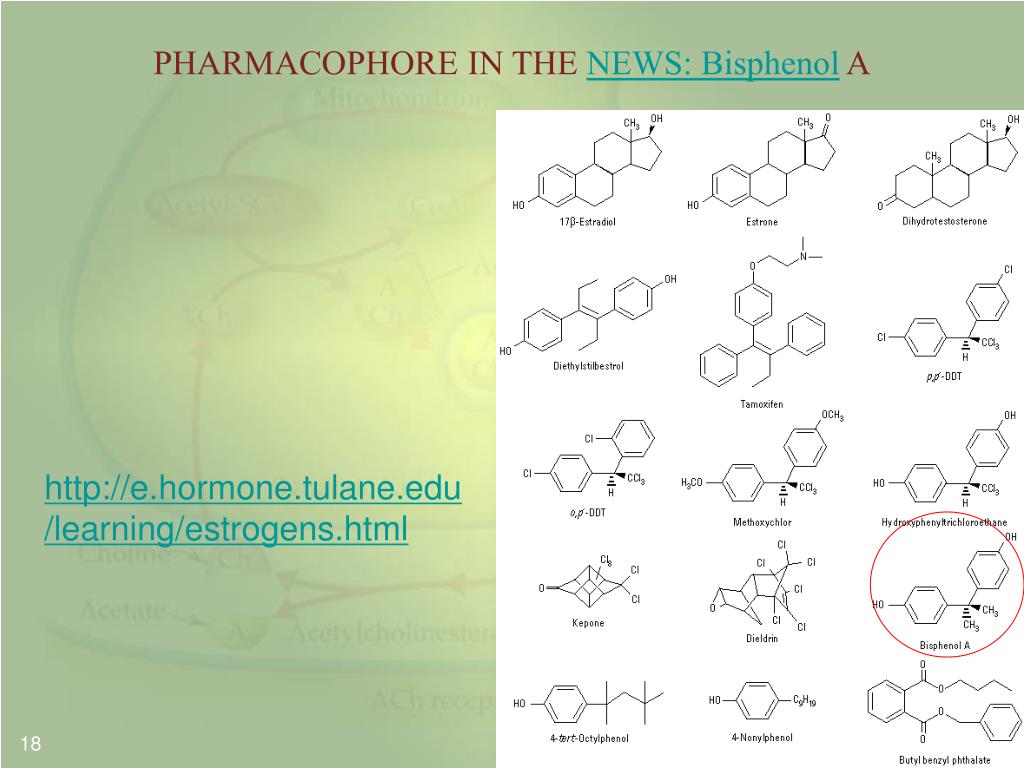 PHARMACOPHORE IN THE