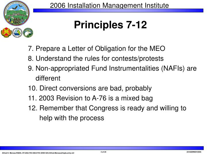 7. Prepare a Letter of Obligation for the MEO