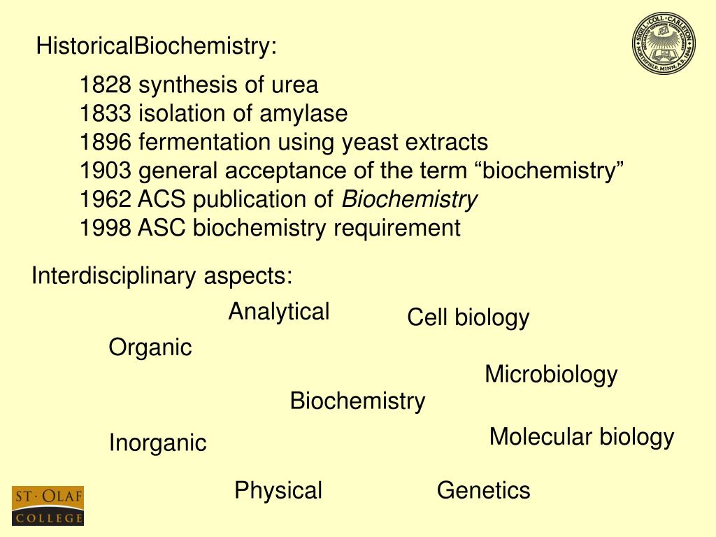 HistoricalBiochemistry: