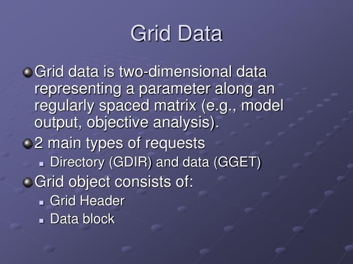Grid Data