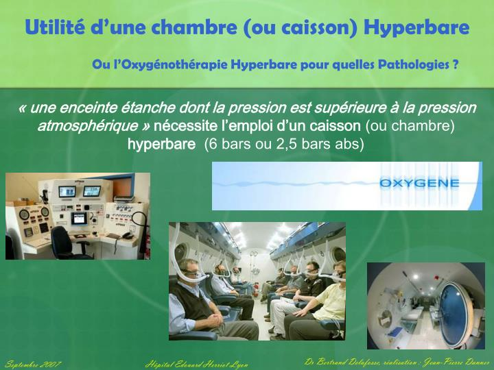 Ppt centre hyperbare powerpoint presentation id 893061 for Chambre hyperbare